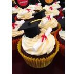 Afstudeer cupcakes (12 st.)