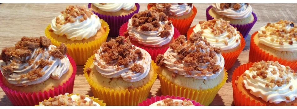 Hazelnut Heaven cupcakes