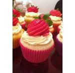 Strawberry cupcakes (12 st.)